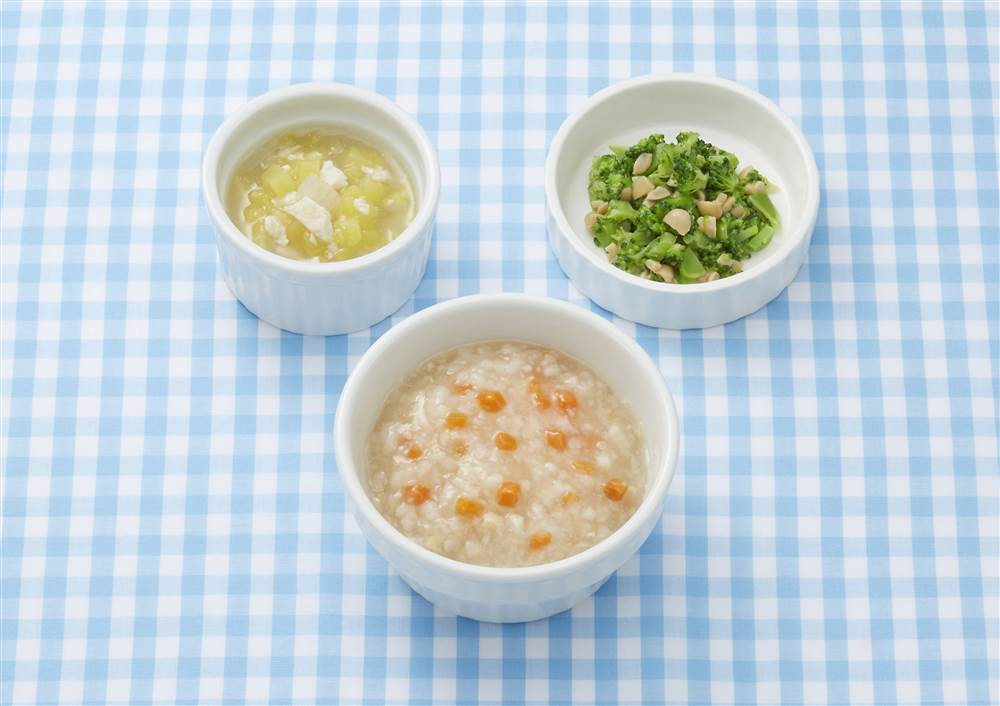「白身魚と野菜の雑炊」を使った献立