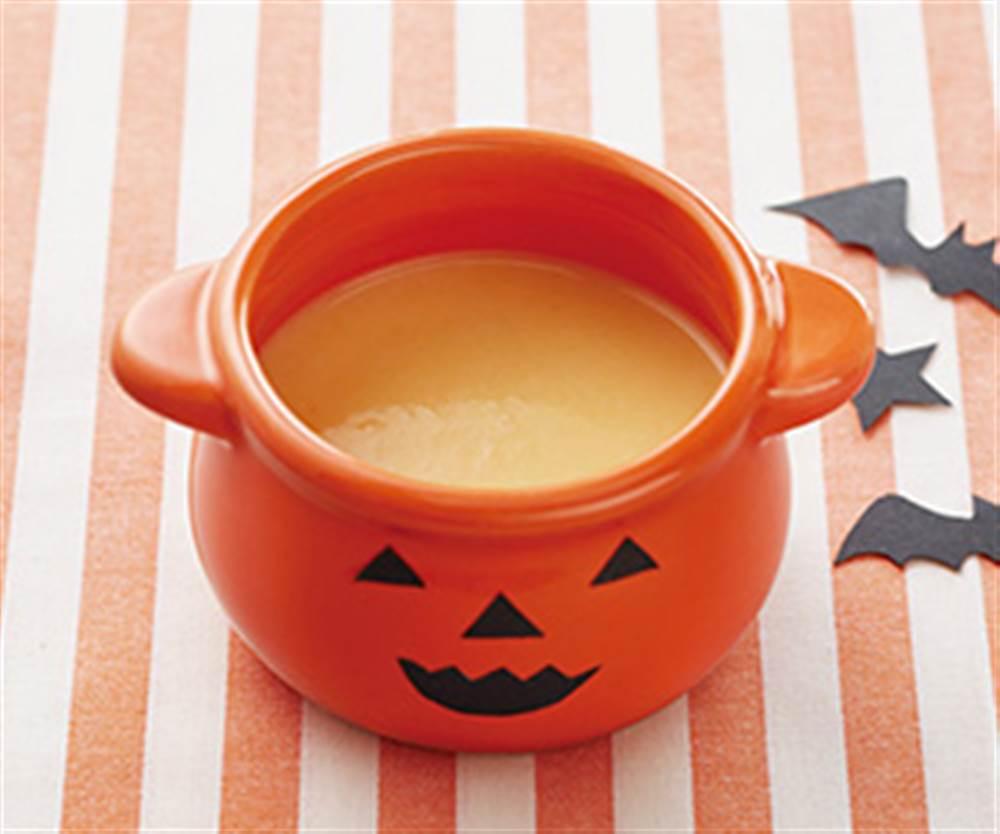 かぼちゃとさつまいものミルクパンがゆ