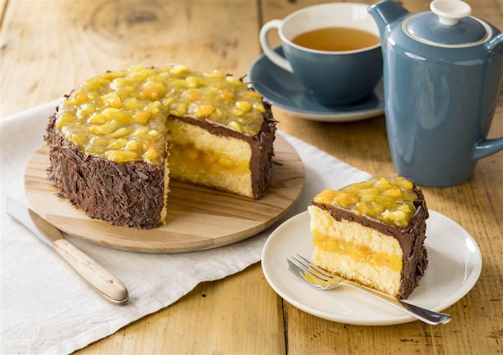 写真:オレンジショコラケーキ