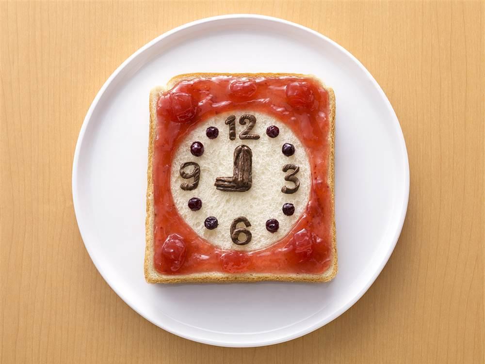 写真:ジャムde時計パン