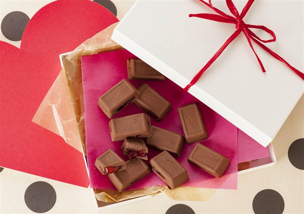 写真:ストロベリーチョコレート