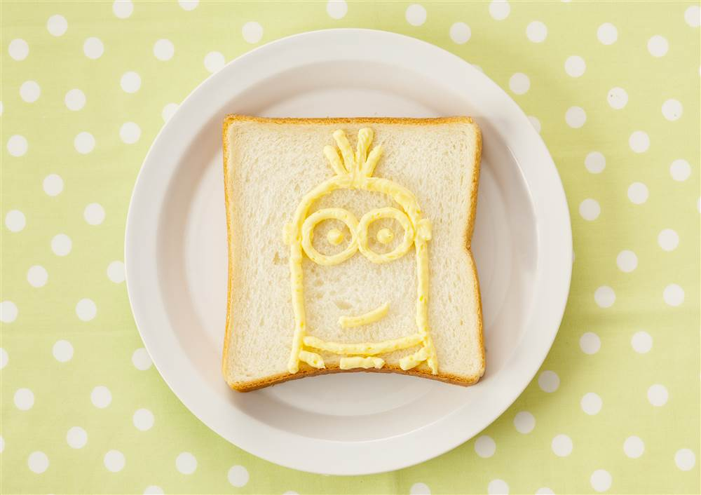 写真:お絵かきパン ケビン