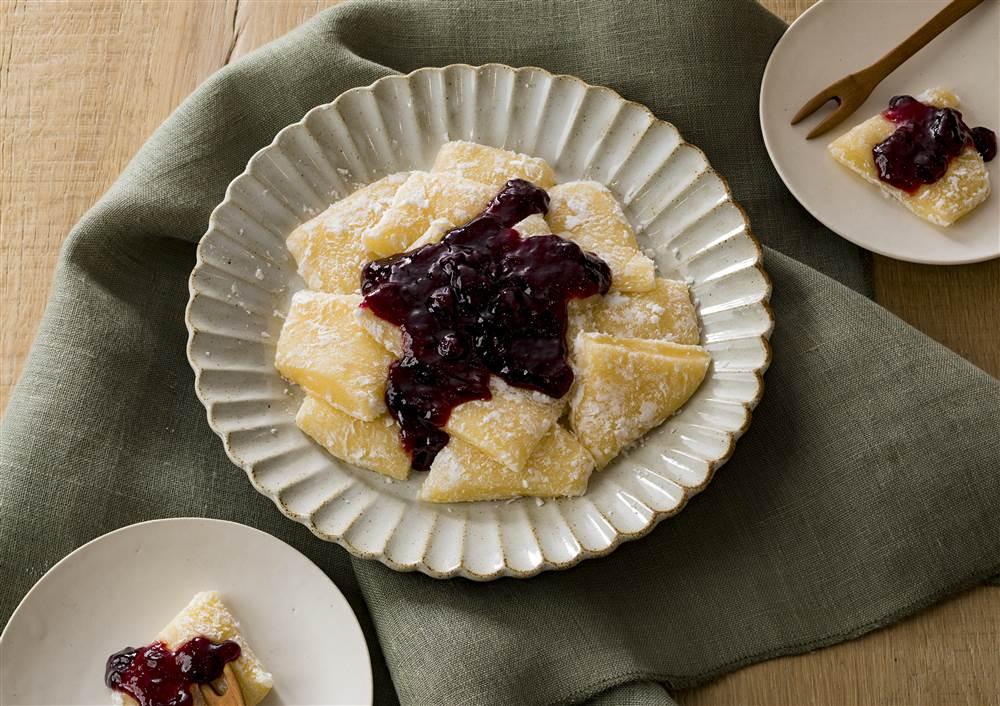 写真:切り餅でかんたん!ジャムバター餅