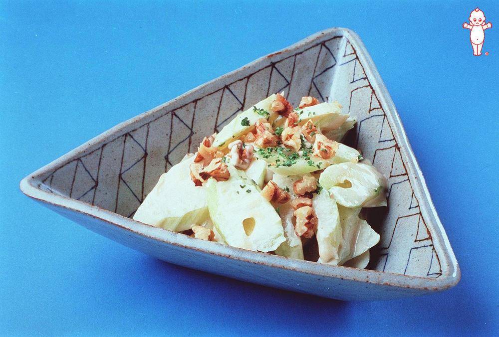 写真:セロリのナッツ風味サラダ