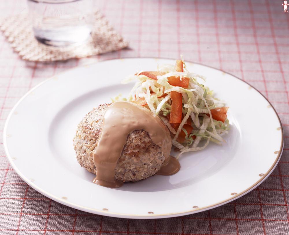 写真:豆腐入りハンバーグ