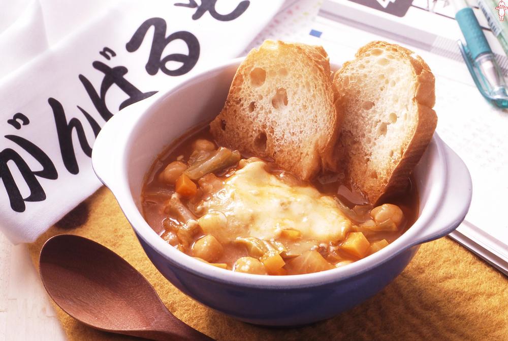写真:がんばるぞ!ガッツスープ