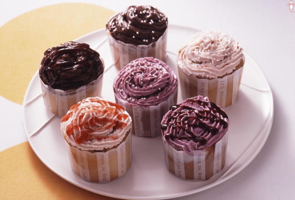 写真:マヨネーズで!ふんわりカップケーキ
