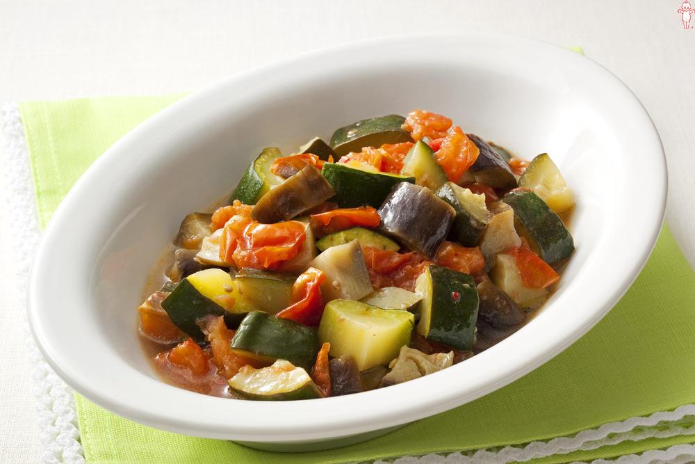 写真:夏野菜の冷製カポナータ風