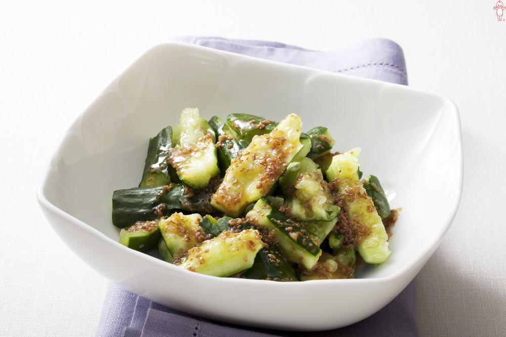 写真:たたききゅうりのサラダ