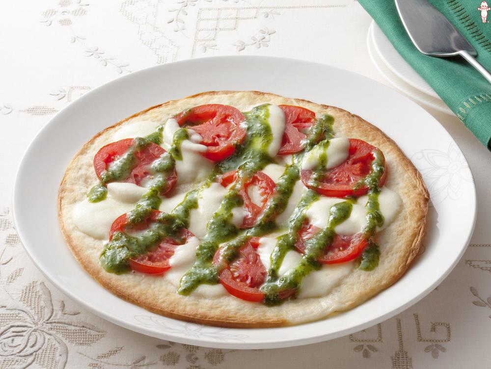 写真:カプレーゼピザ