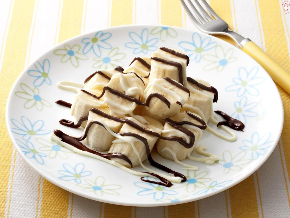 写真:チョコバナナ