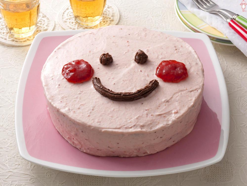 写真:かんたん!お絵かきケーキ