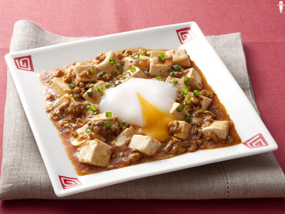 写真:とろ~り半熟たまごの麻婆豆腐