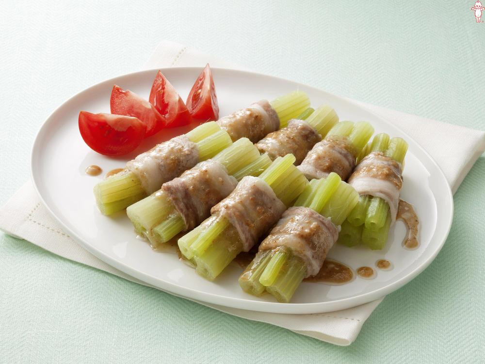 写真:レンジでかんたん!ふきの豚肉巻きサラダ