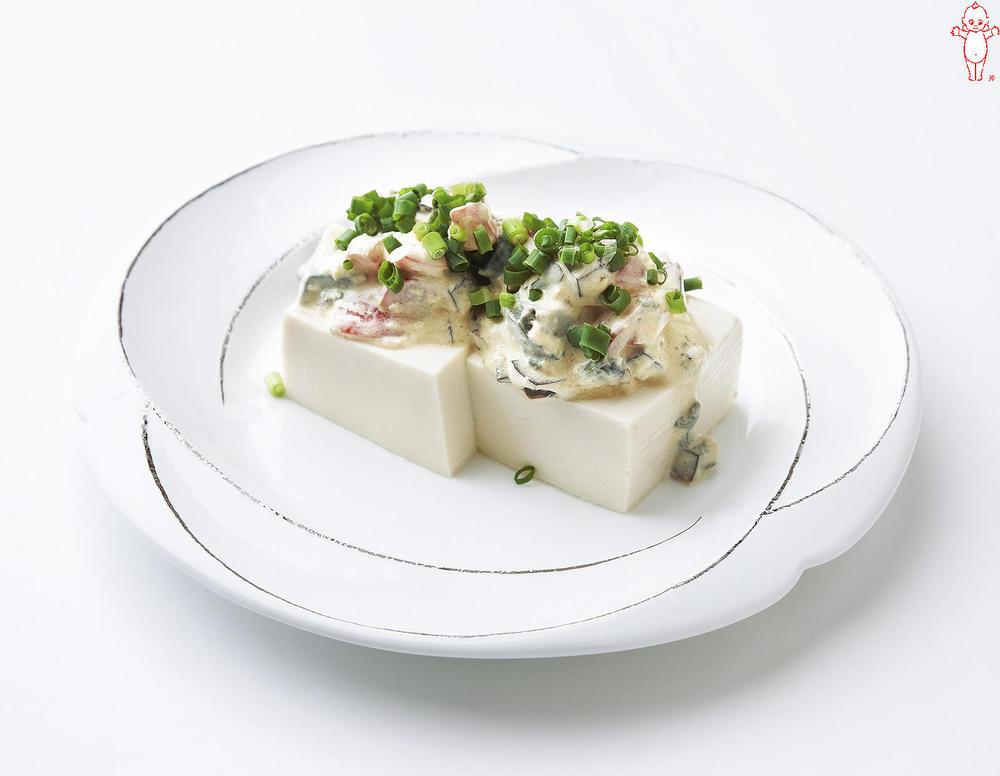 写真:ピータン豆腐