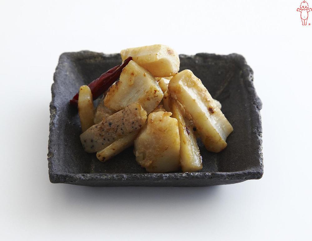 写真:れんこんのピリ辛炒め