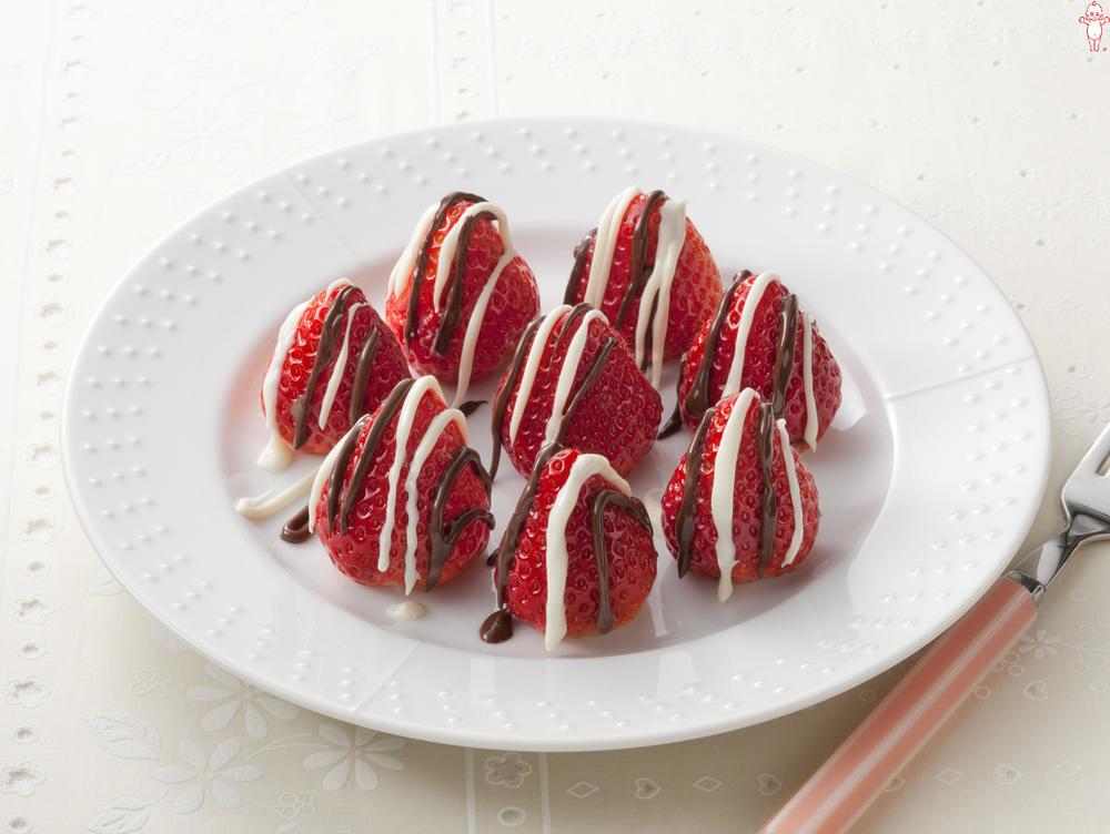 写真:チョコいちご