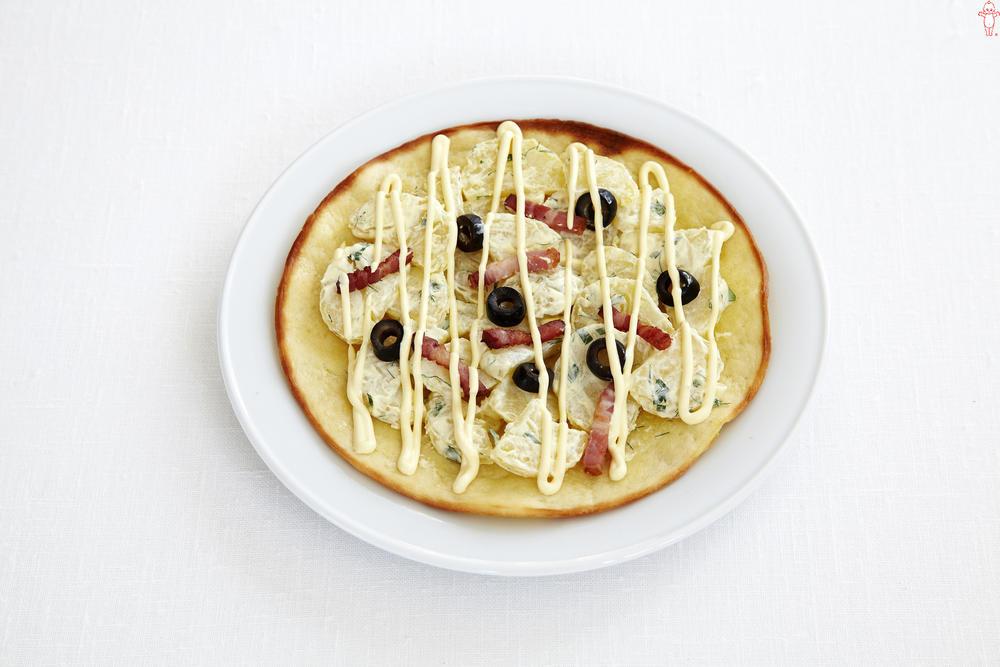 写真:ポテトのサラダピザ
