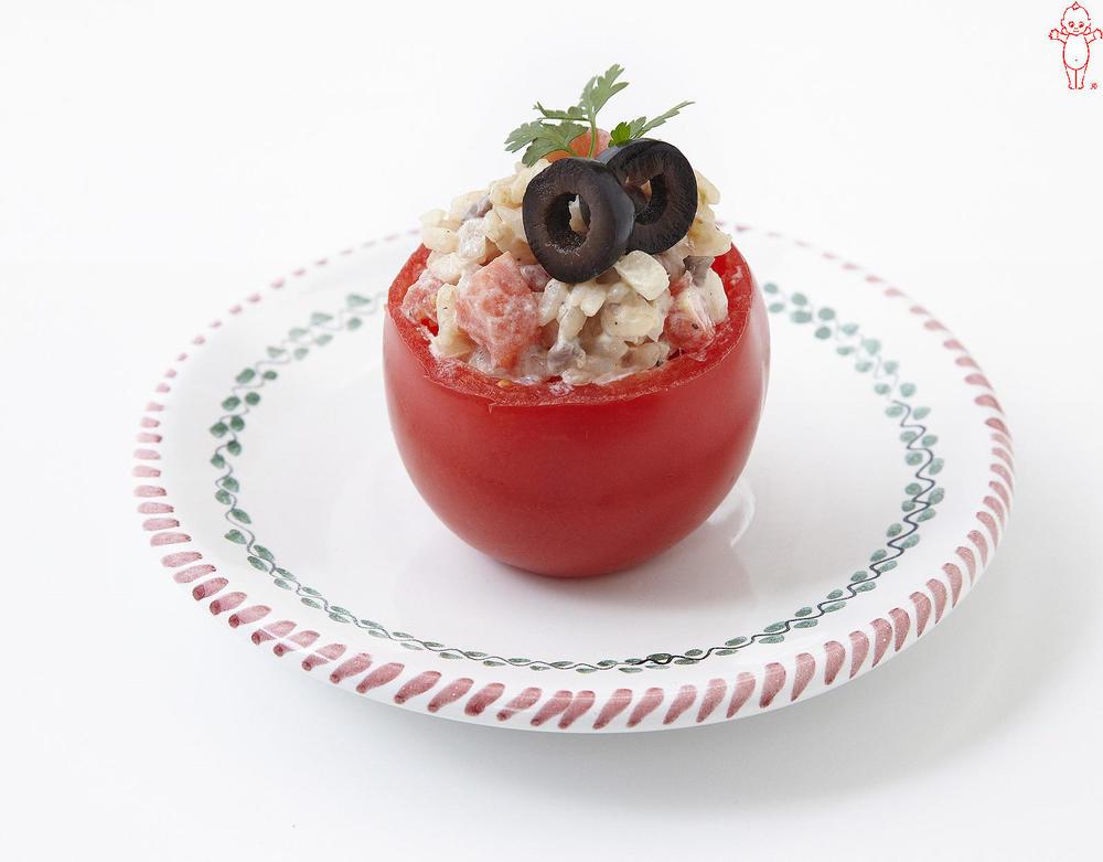写真:トマトとアンチョビーライスのファルシー