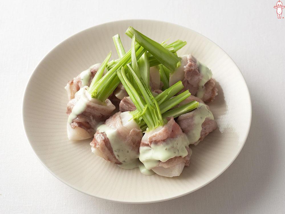 写真:レンジでかんたん!かぶの豚肉巻きサラダ