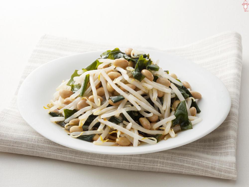 写真:豆もやし風中華サラダ