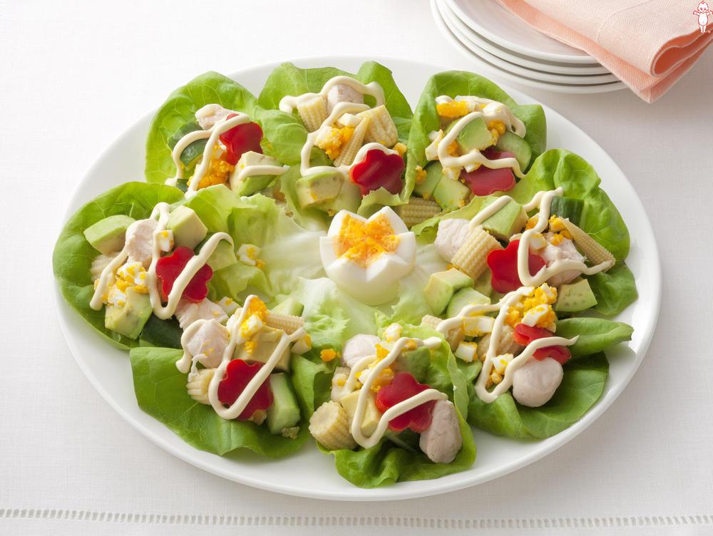 写真:会話もごちそう 記念日サラダ