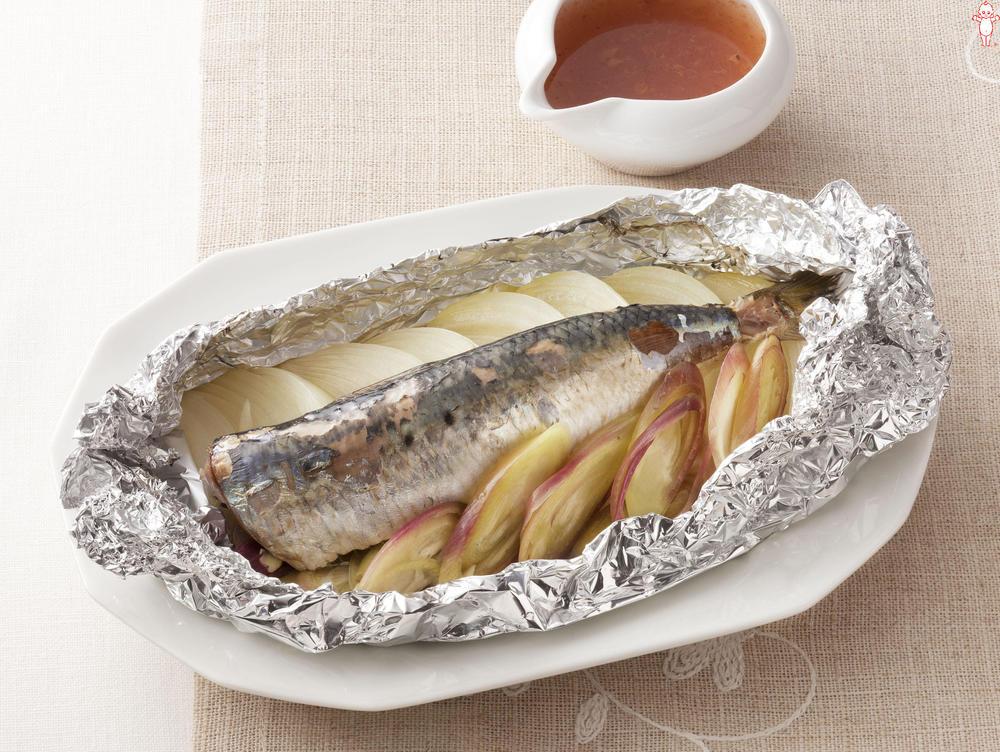 写真:オーブントースターでかんたん!いわしのホイル包み焼き