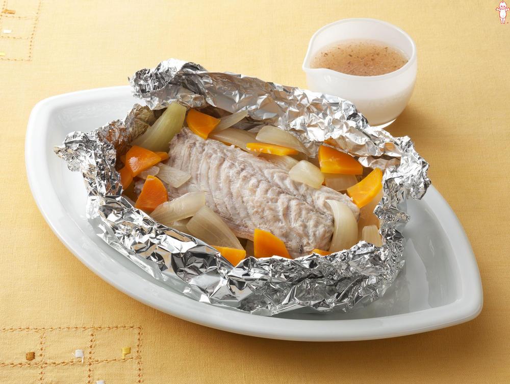写真:オーブントースターでかんたん!さばと玉ねぎのホイル包み焼き