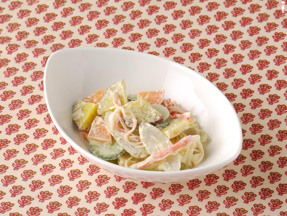写真:根菜サラダ