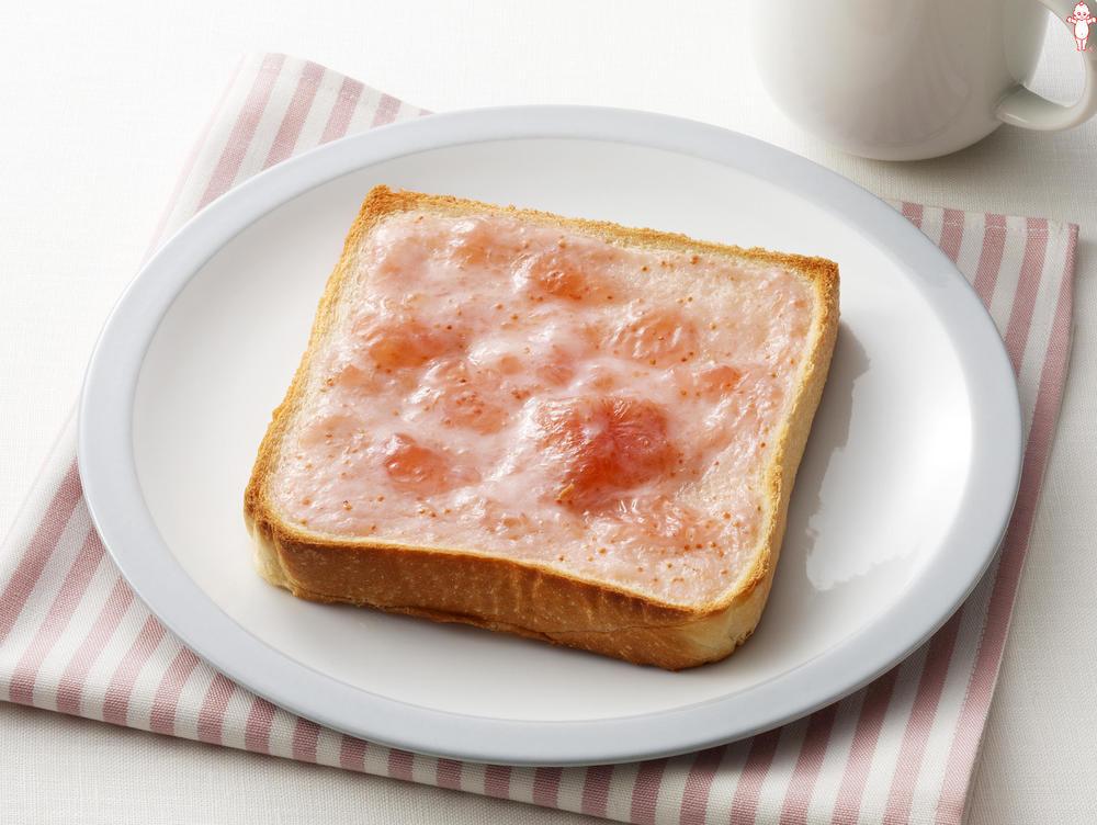 写真:イチジクジャムのヨーグルトトースト
