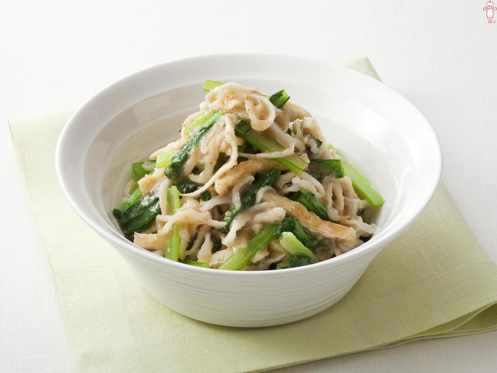 写真:切干し大根と小松菜のサラダ