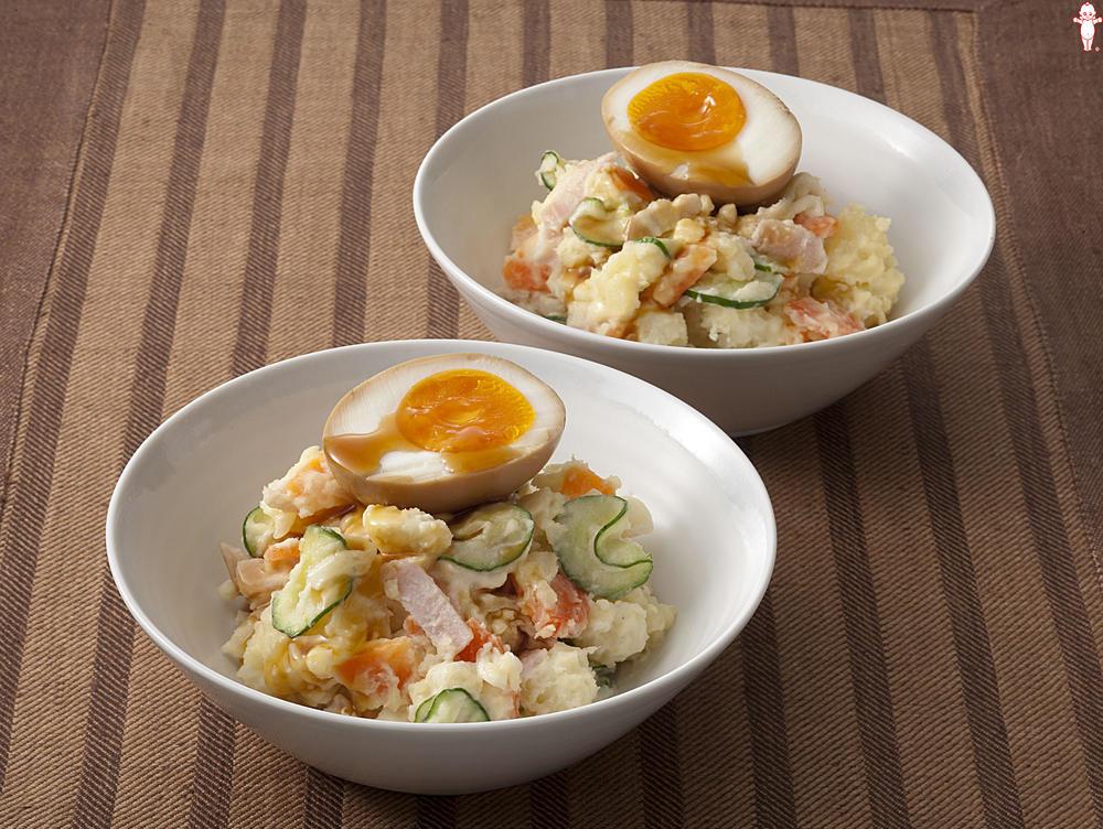 写真:煮卵とろ~りポテトサラダ
