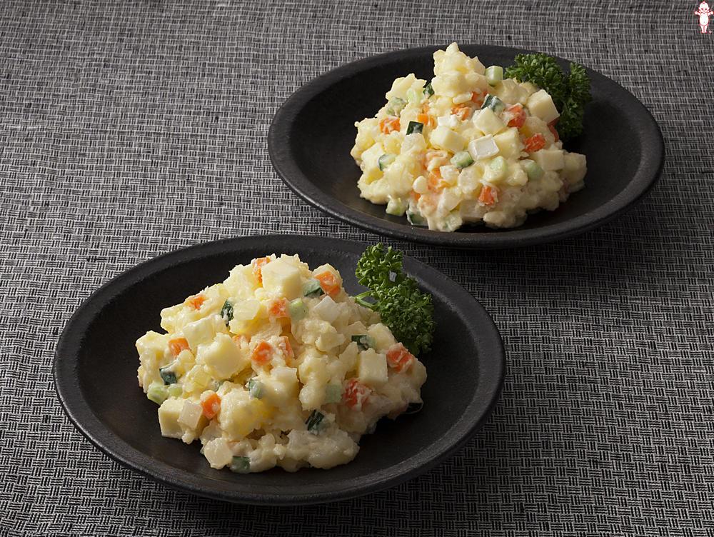 写真:コロコロ野菜とチーズのポテトサラダ