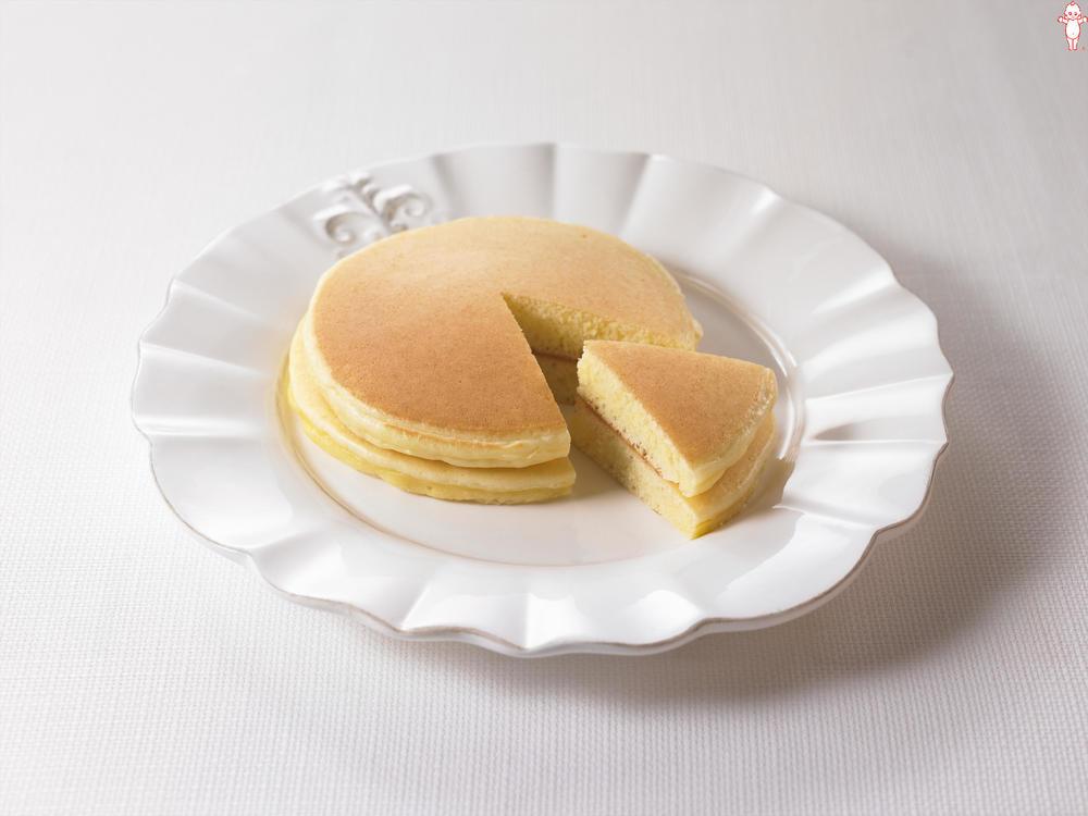 写真:マヨネーズで!ふわふわホットケーキ