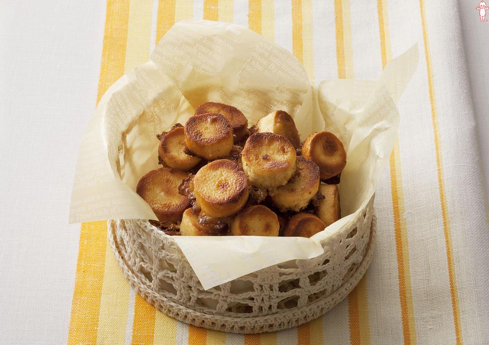 写真:サクッとはちみつマヨの麩菓子