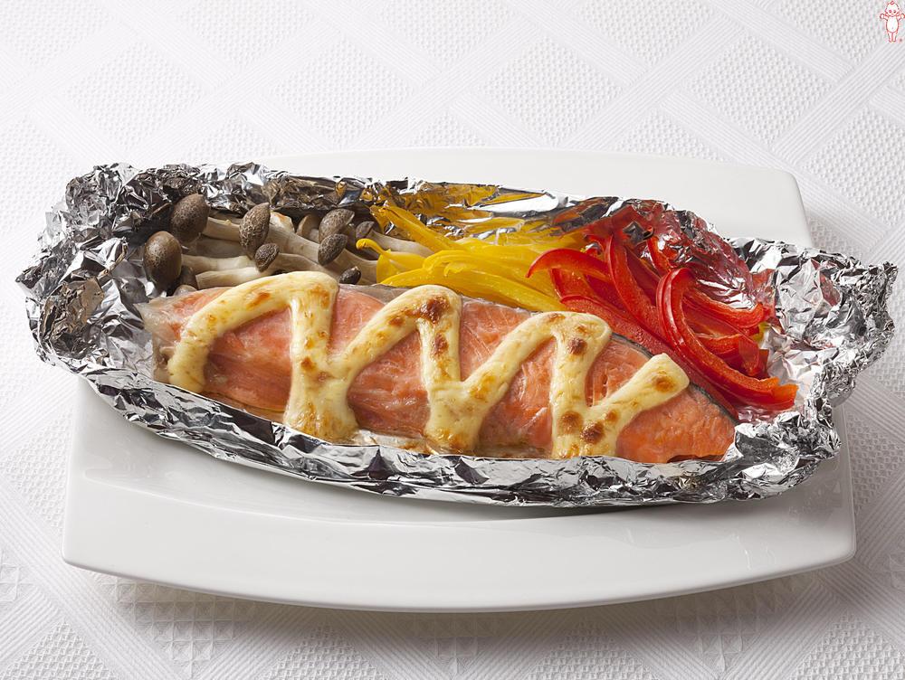 写真:オーブントースターでかんたん!鮭のマヨネーズ焼き