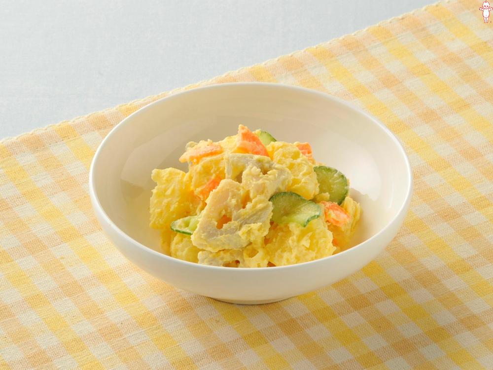 写真:れんこんのカレーポテトサラダ
