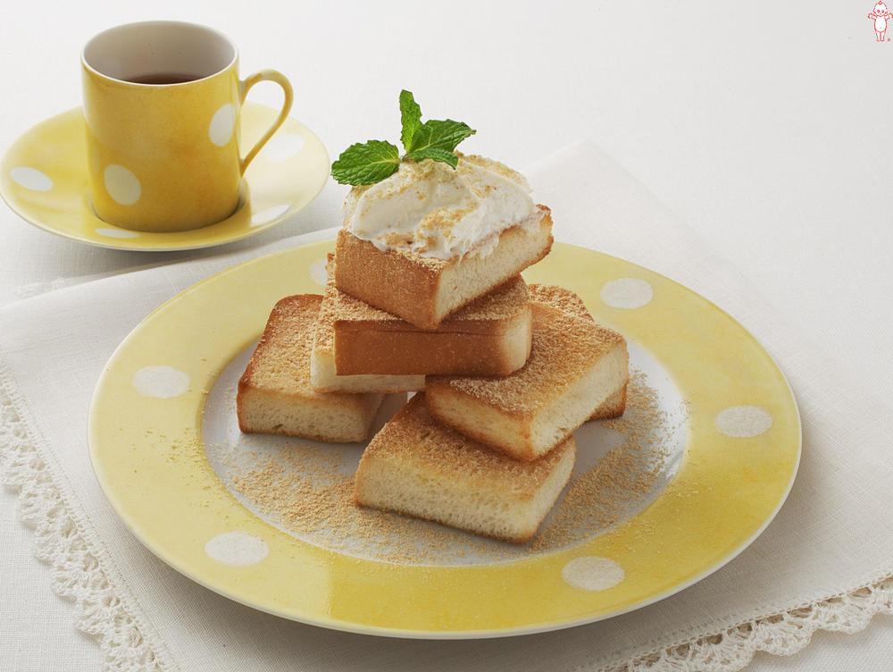 写真:シュガーきな粉トースト
