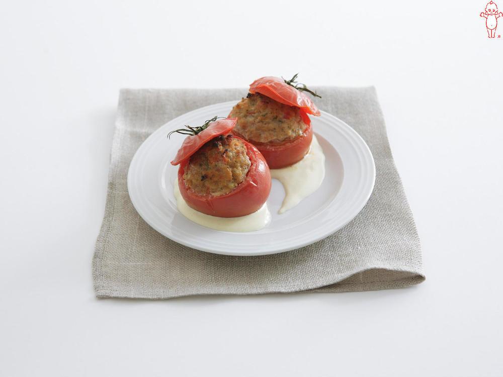 写真:トマトのファルシー