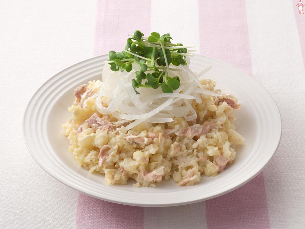 写真:新玉ねぎのポテトサラダ