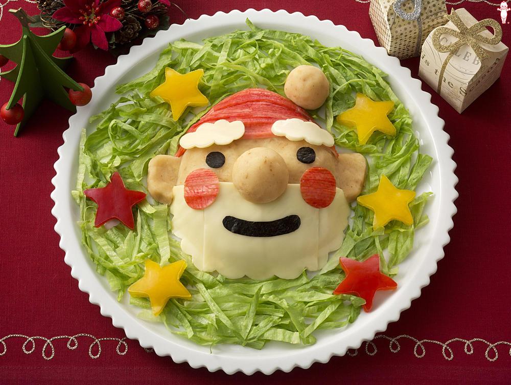 写真:サンタクロースのポテトサラダ