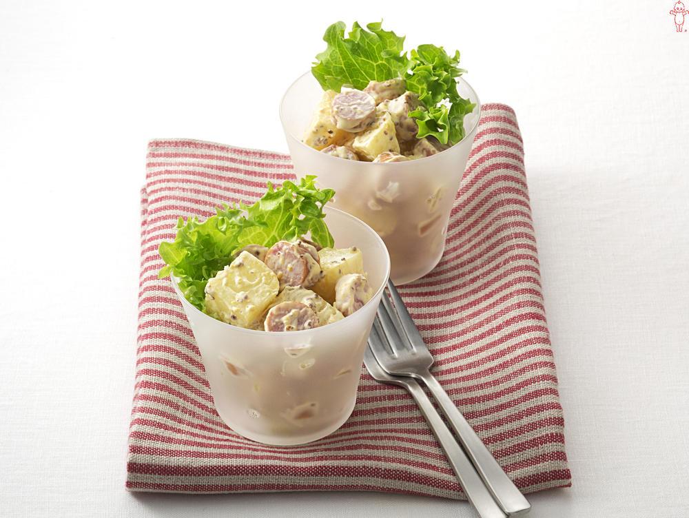 写真:ジャーマンポテトのカップサラダ