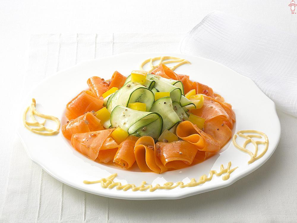 写真:ズッキーニのアニバーサリーサラダ