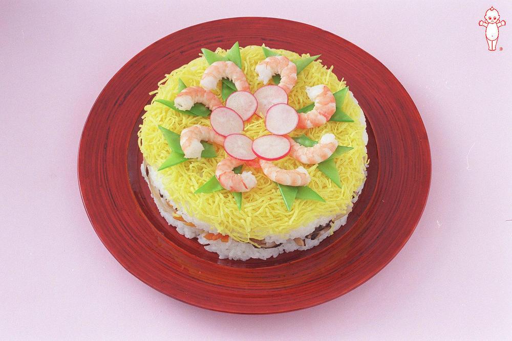 写真:ケーキ寿司