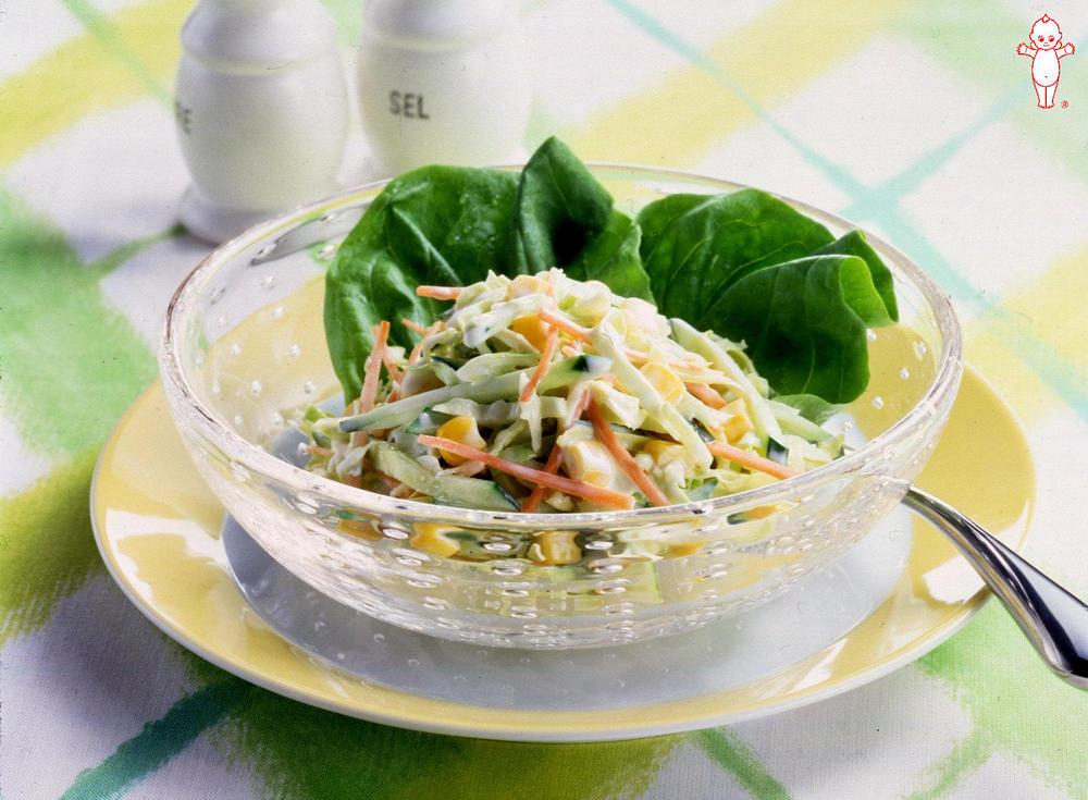 写真:春キャベツのサラダ