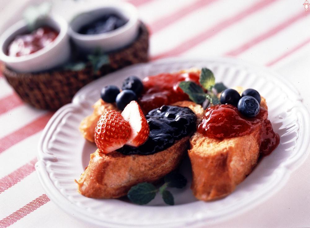 写真:フルーティーフレンチトースト