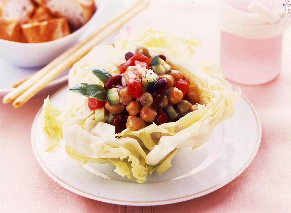 写真:豆のイタリアンサラダ