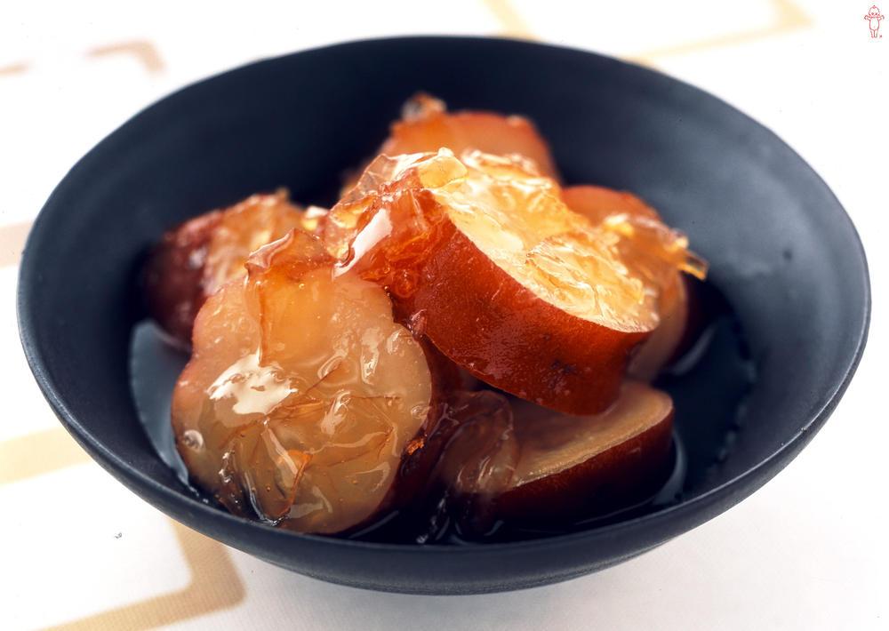 写真:さつまいものオレンジママレード煮