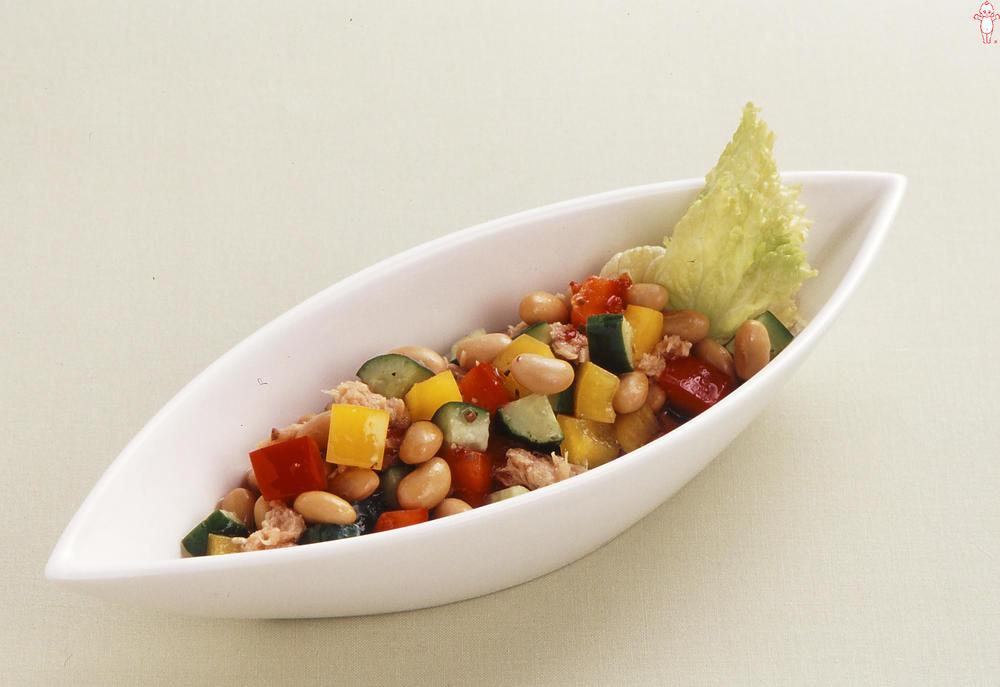 写真:大豆のマリネサラダ