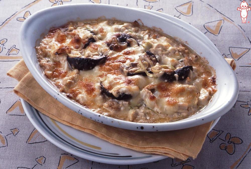 写真:豆腐の和風マヨネーズグラタン